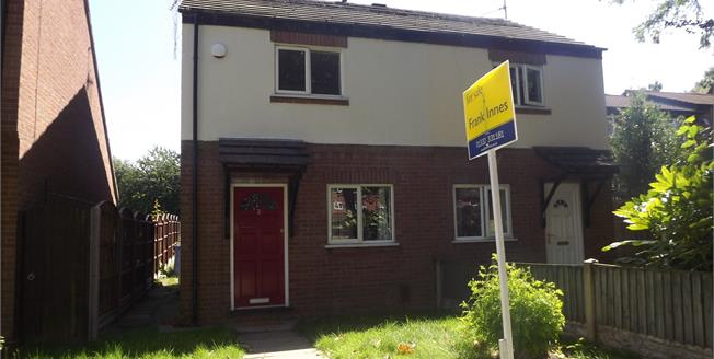 Offers Over £105,000, 2 Bedroom Semi Detached House For Sale in Derby, DE1