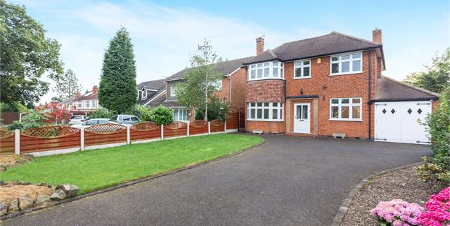 Offers Over £360,000, 3 Bedroom Detached House For Sale in Littleover, DE23