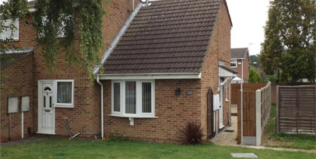 Asking Price £84,950, 1 Bedroom Semi Detached House For Sale in Alvaston, DE24