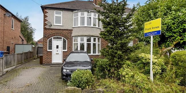 Asking Price £160,000, 3 Bedroom Semi Detached House For Sale in Chaddesden, DE21