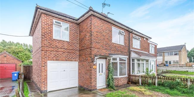 Asking Price £165,000, 4 Bedroom Semi Detached House For Sale in Derby, DE23