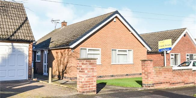 Guide Price £240,000, 2 Bedroom Detached Bungalow For Sale in Littleover, DE23