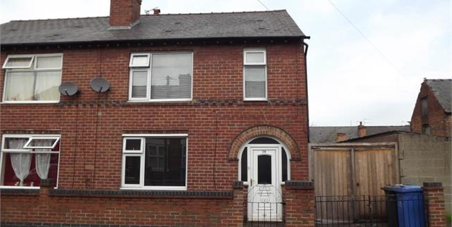 Offers Over £125,000, 3 Bedroom Semi Detached House For Sale in Derby, DE23