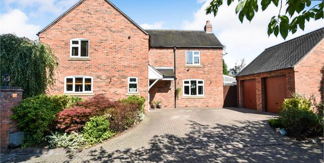 Asking Price £700,000, 4 Bedroom Detached House For Sale in Thulston, DE72