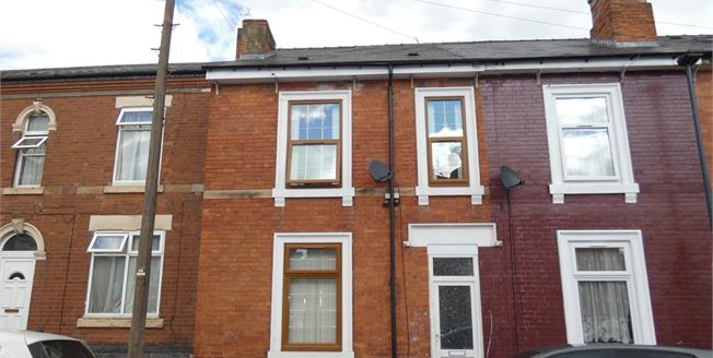 Asking Price £118,000, 3 Bedroom Terraced House For Sale in Derby, DE23