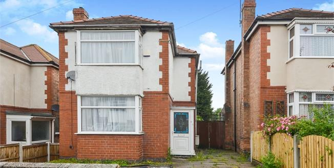 Asking Price £155,000, 3 Bedroom Semi Detached House For Sale in Chaddesden, DE21