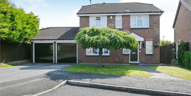 Asking Price £350,000, 4 Bedroom Detached House For Sale in Oakwood, DE21