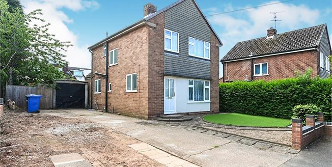 Offers Over £270,000, 3 Bedroom Detached House For Sale in Darley Abbey, DE22