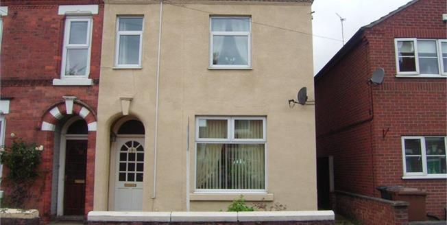 Guide Price £105,000, 2 Bedroom Semi Detached House For Sale in Long Eaton, NG10