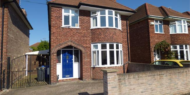 Asking Price £205,000, 3 Bedroom Detached House For Sale in Long Eaton, NG10