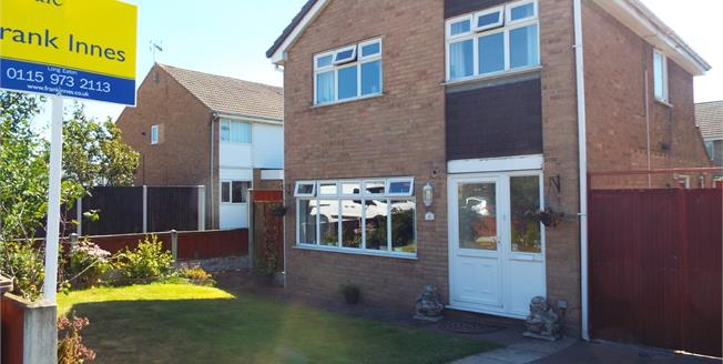 Asking Price £175,000, 3 Bedroom Detached House For Sale in Long Eaton, NG10