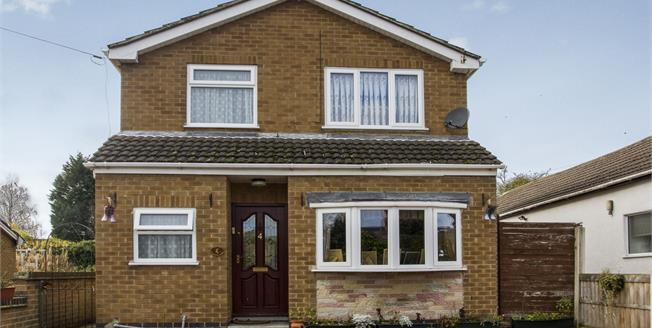 Guide Price £220,000, 3 Bedroom Detached House For Sale in Draycott, DE72