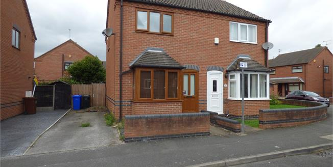 Asking Price £130,000, 2 Bedroom Semi Detached House For Sale in Long Eaton, NG10