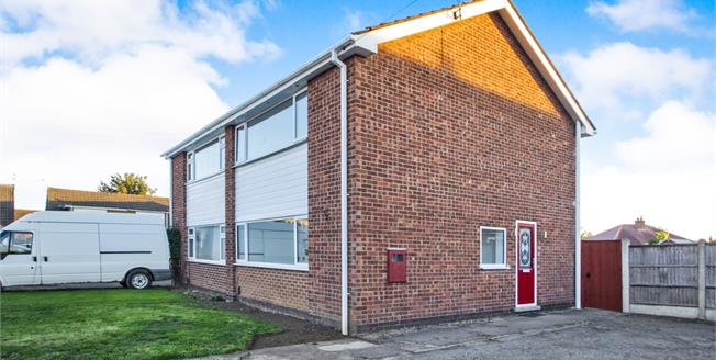 Guide Price £155,000, 3 Bedroom Semi Detached House For Sale in Long Eaton, NG10