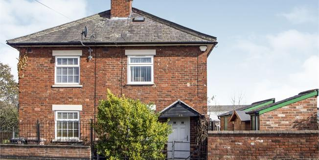 Offers in the region of £115,000, 1 Bedroom Semi Detached Cottage For Sale in Sandiacre, NG10