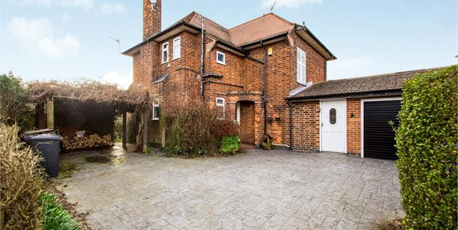 Guide Price £350,000, 3 Bedroom Detached House For Sale in Long Eaton, NG10