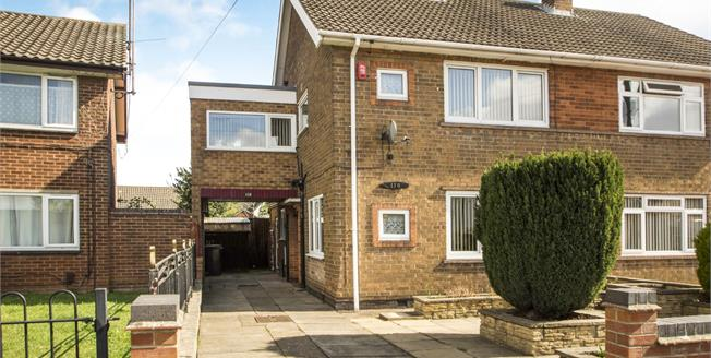 Guide Price £180,000, 4 Bedroom Semi Detached House For Sale in Long Eaton, NG10