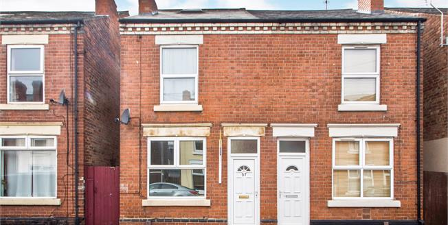 Guide Price £110,000, 3 Bedroom Semi Detached House For Sale in Long Eaton, NG10