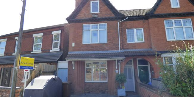 Guide Price £255,000, 4 Bedroom Semi Detached House For Sale in Long Eaton, NG10