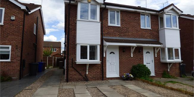 Asking Price £165,000, 2 Bedroom Semi Detached House For Sale in Long Eaton, NG10