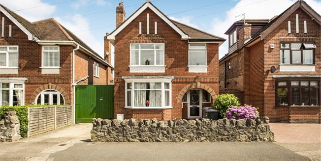 Guide Price £220,000, 3 Bedroom Detached House For Sale in Long Eaton, NG10