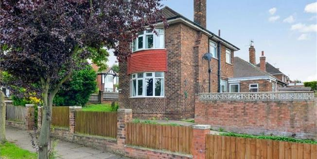 Offers Over £180,000, 3 Bedroom Detached House For Sale in Mansfield, NG19