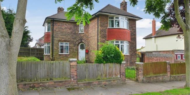 Offers Over £175,000, 3 Bedroom Detached House For Sale in Mansfield, NG19