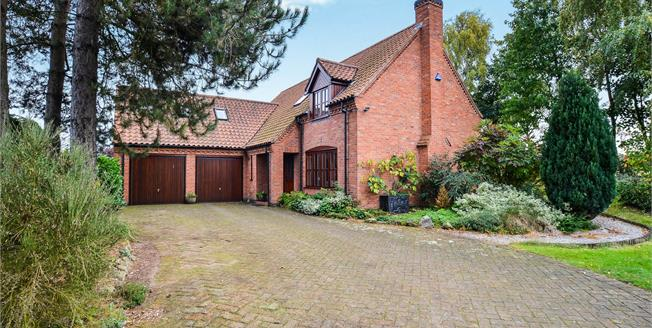 Guide Price £425,000, 4 Bedroom Detached House For Sale in Kings Clipstone, NG21