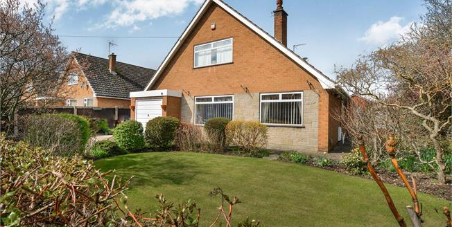 Offers Over £250,000, 4 Bedroom Detached Bungalow For Sale in Church Warsop, NG20