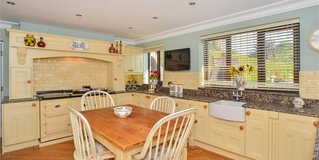 Guide Price £350,000, 4 Bedroom Detached House For Sale in Creswell, S80