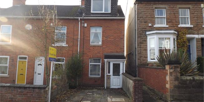 Offers Over £108,000, 2 Bedroom Terraced House For Sale in Mansfield, NG18