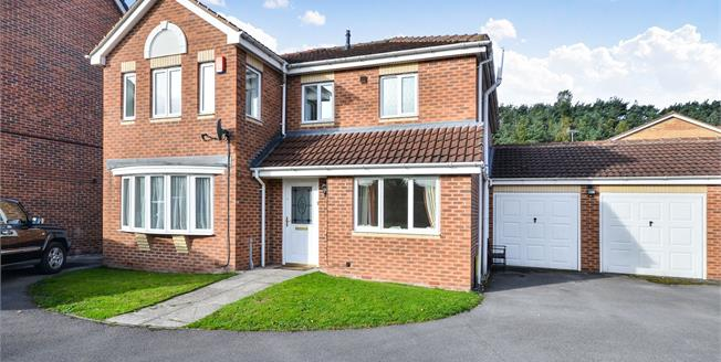 Asking Price £230,000, 4 Bedroom Detached House For Sale in Mansfield, NG18
