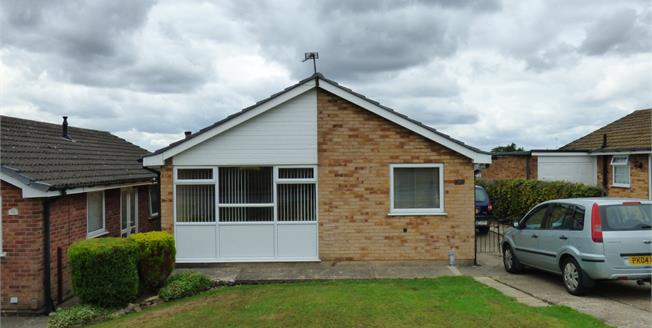 Asking Price £155,000, 2 Bedroom Detached Bungalow For Sale in Selston, NG16