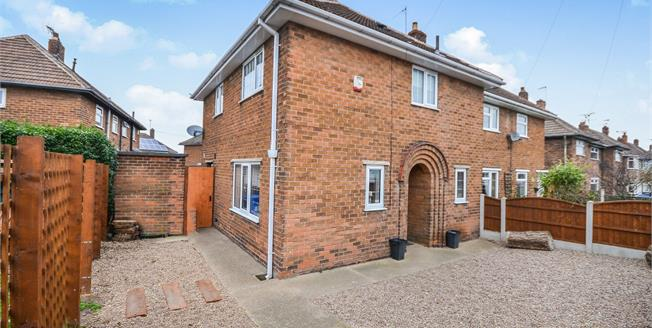 Asking Price £130,000, 3 Bedroom Semi Detached House For Sale in Warsop, NG20