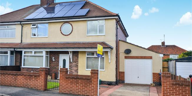 Guide Price £170,000, 5 Bedroom Semi Detached House For Sale in Warsop, NG20