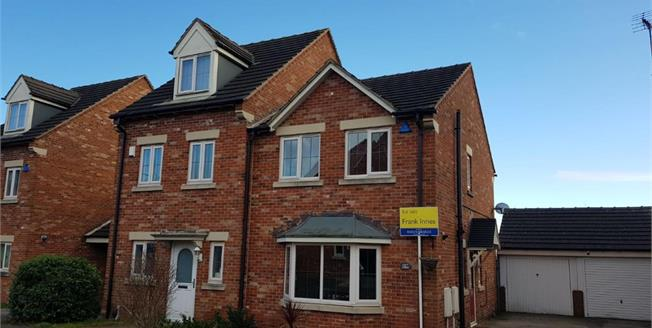 Offers Over £130,000, 3 Bedroom Semi Detached House For Sale in Mansfield, NG18