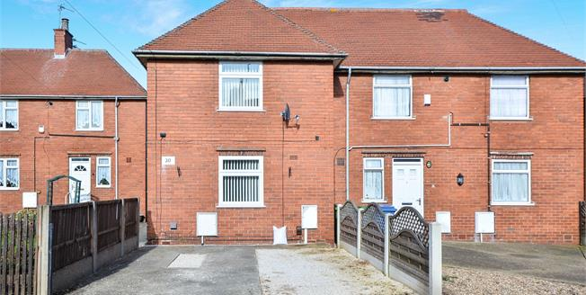 Asking Price £100,000, 2 Bedroom Semi Detached House For Sale in Mansfield, NG19