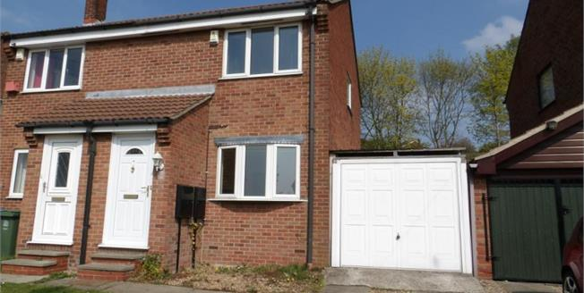 £90,000, 2 Bedroom Semi Detached House For Sale in Forest Town, NG19