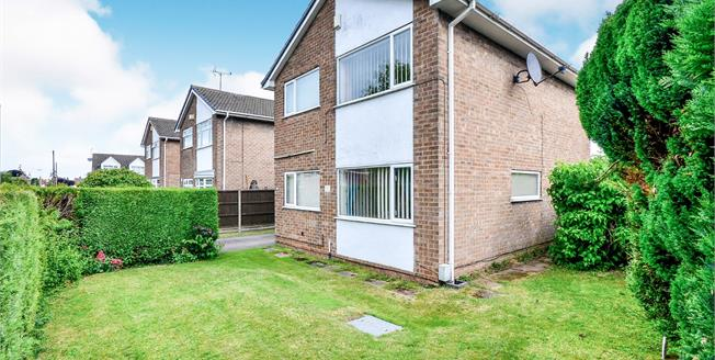 Asking Price £160,000, 3 Bedroom Detached House For Sale in Mansfield, NG19