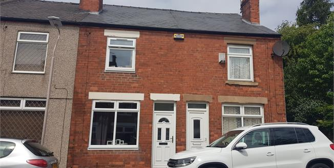 Offers Over £90,000, 2 Bedroom Terraced House For Sale in Mansfield, NG19