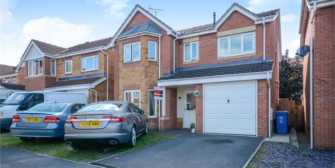 Offers in the region of £225,000, 4 Bedroom Detached House For Sale in Forest Town, NG19