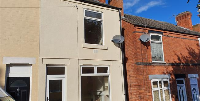 Offers Over £70,000, 2 Bedroom Terraced House For Sale in Mansfield, NG18
