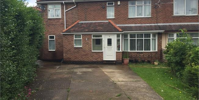 Guide Price £240,000, 4 Bedroom House For Sale in Nottingham, NG8