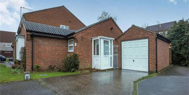 Guide Price £115,000, 2 Bedroom Detached Bungalow For Sale in Nottingham, NG6