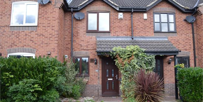 Guide Price £125,000, 2 Bedroom Terraced House For Sale in Colwick, NG4
