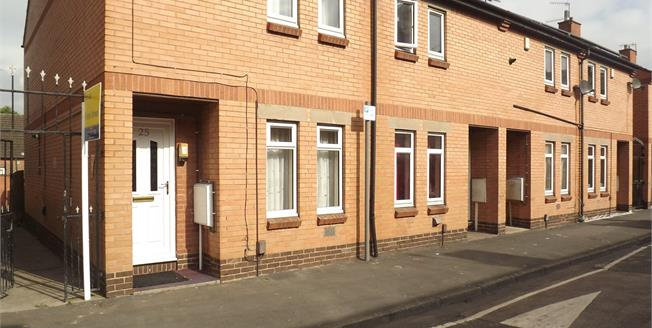Guide Price £100,000, 2 Bedroom End of Terrace House For Sale in Nottingham, NG7