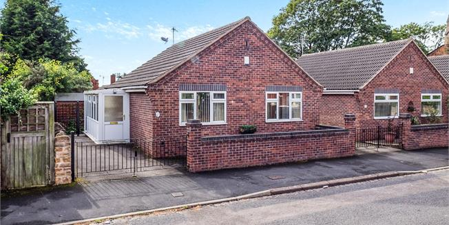 Guide Price £140,000, 2 Bedroom Detached Bungalow For Sale in Nottingham, NG6