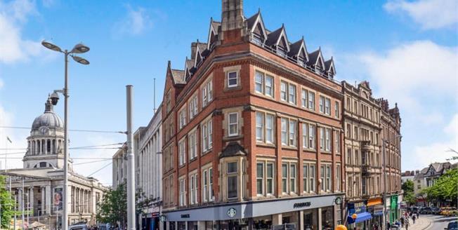 Offers Over £150,000, 1 Bedroom Upper Floor Flat For Sale in Nottingham, NG1