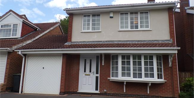Guide Price £240,000, 3 Bedroom Detached House For Sale in Bramcote, NG9