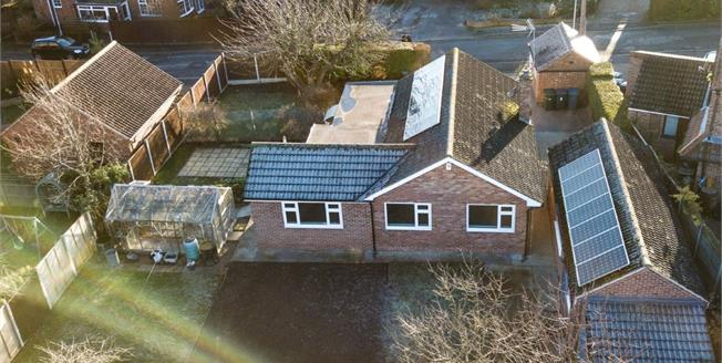 Offers in the region of £400,000, 3 Bedroom Detached Bungalow For Sale in Cropwell Bishop, NG12